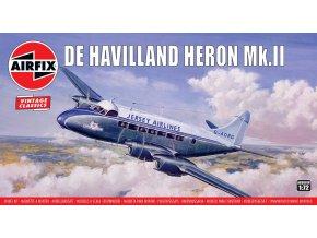 Airfix - de Havilland Heron Mk.II, Classic Kit VINTAGE A03001V, 1/72