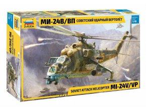 Zvezda - Mil Mi-24 V/VP, Model Kit 4823, 1/48
