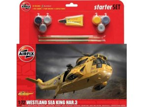 Airfix - Westland Sea King HAR.3, Starter Set A55307A, 1/72