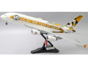 "JC Wings - Airbus A380, Etihad Airways, ""Year of Zayed"", Spojené Arabské Emiráty, 1/200"