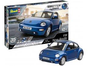 Revell - Volkswagen New Beetle, EasyClick 07643, 1/24