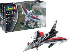 """Revell - Eurofighter Typhoon """"BARON SPIRIT"""", Plastic ModelKit 03848, 1/48"""