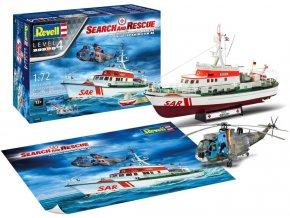Revell - DGzRS Arkona + Westland Sea King Mk 41, SAR, Gift-Set 05683, 1/72
