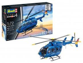 """Revell - Eurocopter EC 145 """"Builder's Choice"""", ModelSet 63877, 1/72"""
