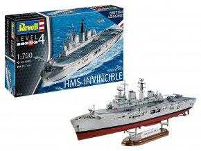 Revell - HMS Invincible, Válka o Falklandy, ModelSet 65172, 1/700