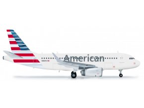 Herpa - Airbus A319-112, společnost American Airlines, USA, 1/200