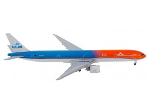 Herpa - Boeing B777-300ER, dopravce KLM Royal Dutch Airlines, Nizozemí, 1/500