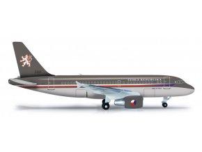 Herpa - Airbus A319-115XCJ, Czech Air Force, 1/500