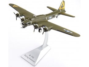 Air Force One - Boeing B-17G Flying Fortress, USAAF 379th BG, Kimbolton, Anglie, 1944, 1/72