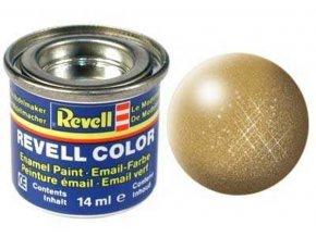 Revell - Barva emailová - No 194 metalická zlatá (gold metallic), 32194