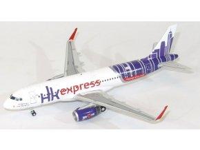 JC Wings - Airbus A 320-232, společnost Hong Kong Express, Hong Kong, 1/200