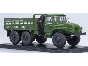 Start Scale Models - URAL-375D, valník, 1/43