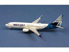 AeroClassics - Boeing  B737-8MAX, dopravce Westjet, Kanada, 1/400