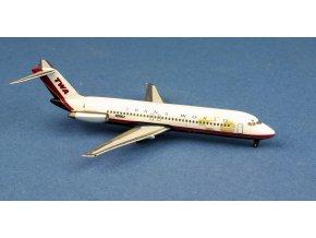 Aero Classics - Douglas DC9-32, dopravce TWA Express, USA, 1/400