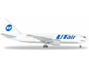"""Herpa - Boeing B767-224(ER), dopravce UTair, """"2000s"""" Colors, Named """"Иван Хохлов"""", Rusko, 1/500"""