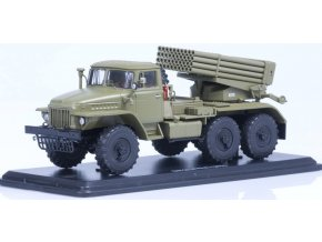 """Start Scale Models - BM-21 """"Grad"""" (URAL-375), 1/43, SLEVA 40%"""