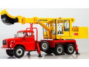 Start Scale Models - Tatra 148 UDS-110 Univerzální dokončovací stroj, 1/43
