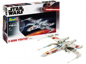Revell - Star Wars - X-wing Fighter, Plastic ModelKit 06779, 1/57