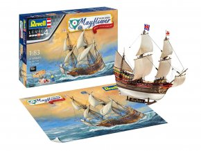 Revell - anglická plachetnice Mayflower, 400th Anniversary, Gift-Set 05684, 1/83