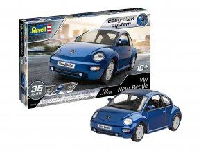 Revell -  Volkswagen New Beetle, EasyClick ModelSet 67643, 1/24
