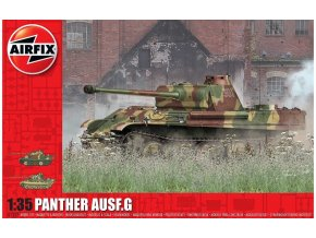 Airfix - Pz.Kpfw.V Panther Ausf.G, Classic Kit A1352, 1/35