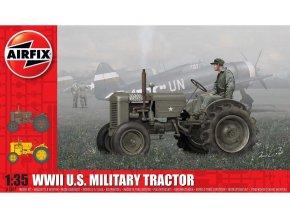 Airfix - U.S. Military Tractor, druhá světová válka, Classic Kit A1367, 1/35