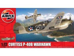 Airfix - Curtiss P-40B Warhawk, Classic Kit A01003B, 1/72