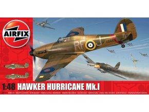 Airfix - Hawker Hurricane Mk.I, Classic Kit A05127A, 1/48