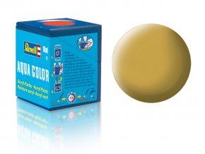 Revell - Barva akrylová 18 ml - matná pískově žlutá (sandy yellow mat), 36116