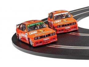 SCALEXTRIC - Autíčko BMW E30 M3 - Team Jagermeister Twin Pack, Limited Edition SCALEXTRIC C4110A, 1/32