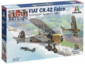 Italeri - FIAT CR.42 Falco, Model Kit 1437, 1/72