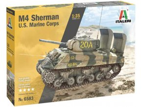 Italeri - M4 Sherman, United States Marine Corps, Model Kit 6583, 1/35
