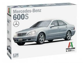 Italeri - Mercedes Benz 600S, Model Kit 3638, 1/24