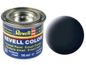 Revell - Barva emailová 14ml - matná tankově šedá (tank grey mat), 32178