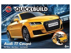 Airfix - Audi TT Coupe, Quick Build J6034, 18,9 cm