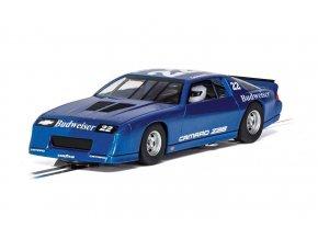SCALEXTRIC  - Autíčko Chevrolet Camaro IROC-Z - Blue, GT SCALEXTRIC C4145, 1/32