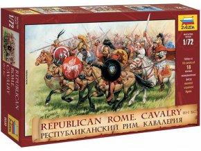 Zvezda - figurky římská kavalerie III.-I. století př.n.l., Wargames (AoB) 8038, 1/72