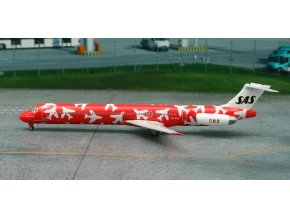 Phoenix - Douglas MD-82, dopravce SAS Scandinavian Airlines, Norsko, 1/400