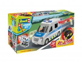 Junior Kit auto 00972 - Police Van (1:20)