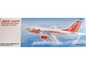 Premier Planes - Boeing B737-33A, společnost Jet2, Velká Británie, 1/200