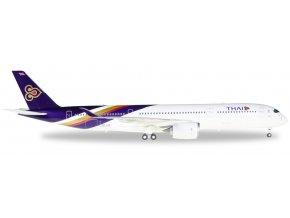 Herpa - Airbus A350-900, společnost Thai Airways, Thajsko, 1/200