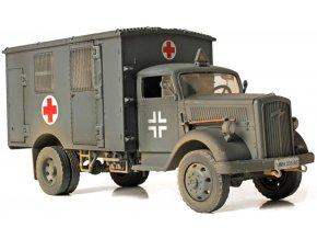 Forces of Valor - Opel Blitz, Ambulance, Francie, 1940, 1/32