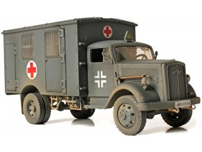 Forces of Valor - Opel Blitz, Ambulance, Francie, 1940, 1/32