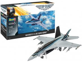 """Revell - Boeing F/A-18E Super Hornet, """"Top Gun"""", Plastic ModelKit 03864, 1/48"""
