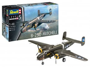 Revell - North American B-25D Mitchell, Plastic ModelKit 04977, 1/48