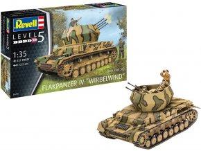 Revell - Flakpanzer IV Wirbelwind, Plastic ModelKit 03296, 1/35