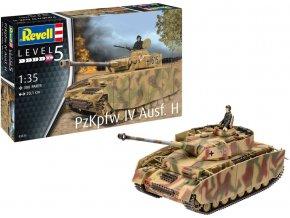 Revell - PzKpfw IV Ausf. H, Plastic ModelKit 03333, 1/35