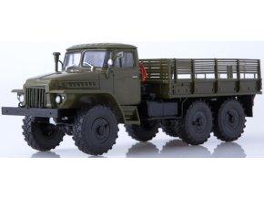 Russian Trucks - URAL 375D, vojenský nákladní, 1/43
