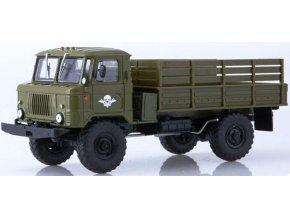 Russian Trucks - GAZ 66 4x4, vojenský nákladní, 1/43