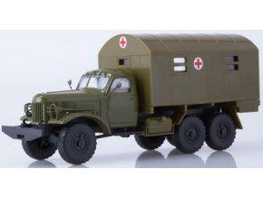 Russian Trucks - ZiL-157 kong-1M, vojenská ambulance, 1/43